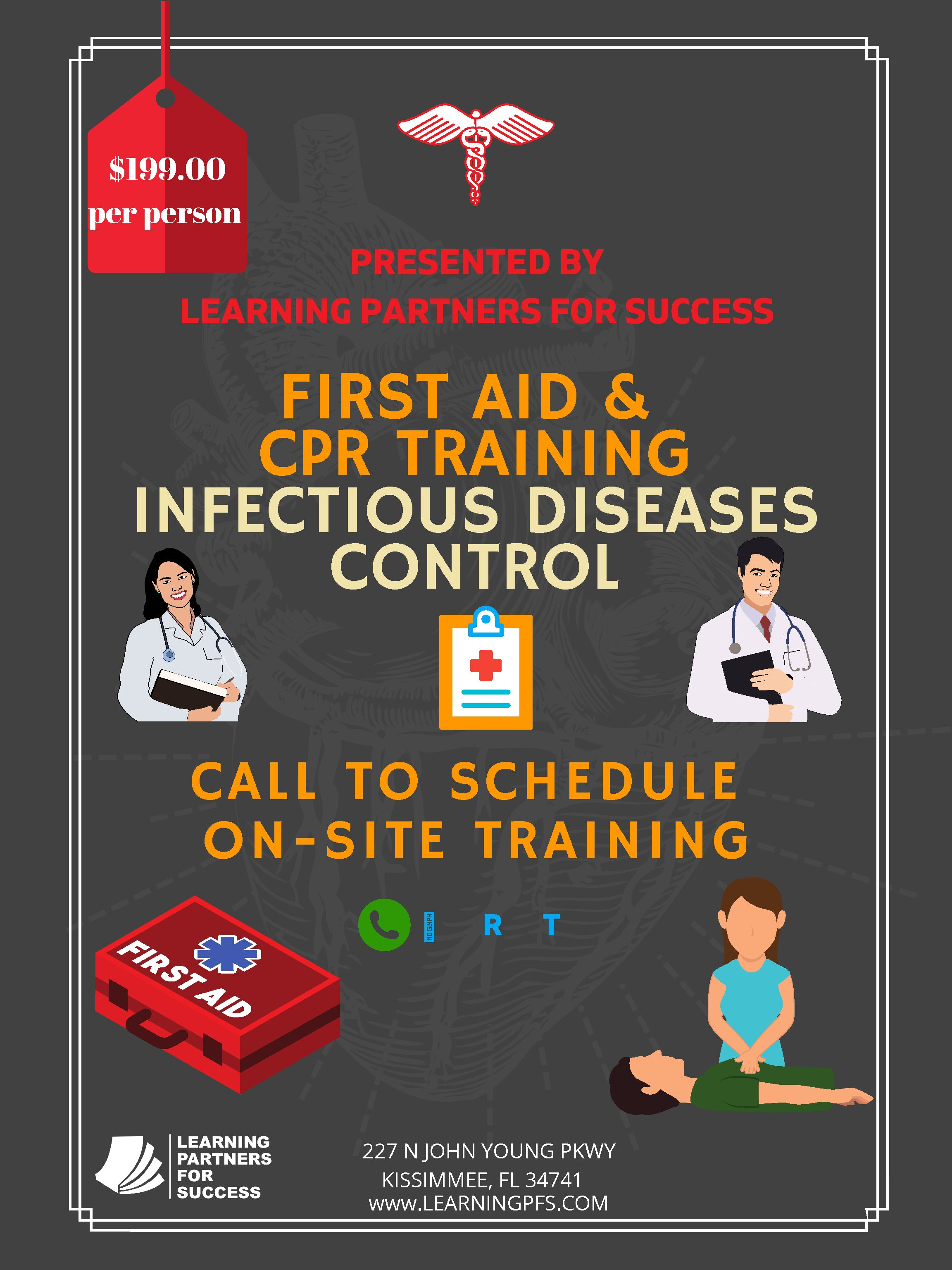 First Aid & CPR Training Certification